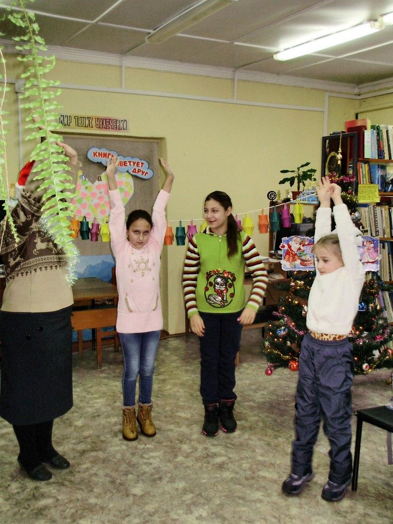 """Новогодняя программа """"Гирлянда из фонариков"""""""